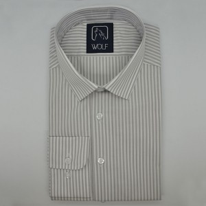 Parker Grey Stripe