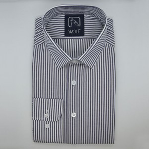 Parker Navy Stripe