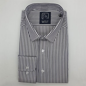 Parker Dark Navy Stripe