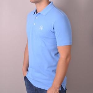 Polo Pique Blue
